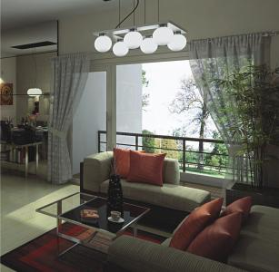 Gallery Cover Image of 1398 Sq.ft 2 BHK Apartment for rent in 3C Lotus Boulevard, Sector 100 for 18000