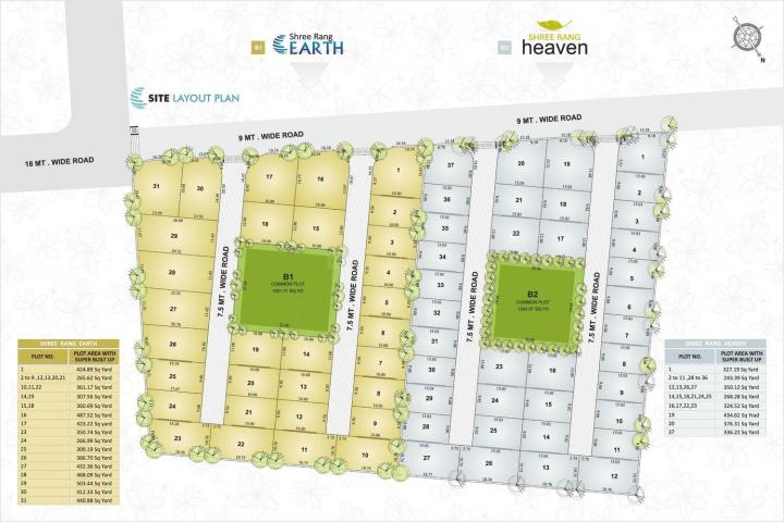 Project Image of 2178.0 - 4527.0 Sq.ft Residential Plot Plot for buy in Shree Rang Earth And Heaven