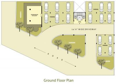 Project Image of 2250 - 4000 Sq.ft 3 BHK Apartment for buy in Olive Heights II