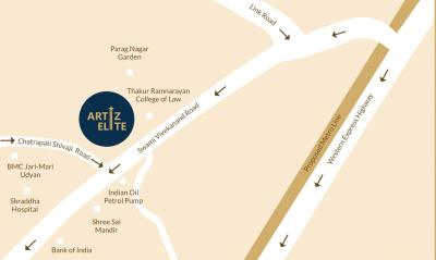 Project Image of 491.0 - 733.0 Sq.ft 1 BHK Apartment for buy in Buildtech Artiz Elite