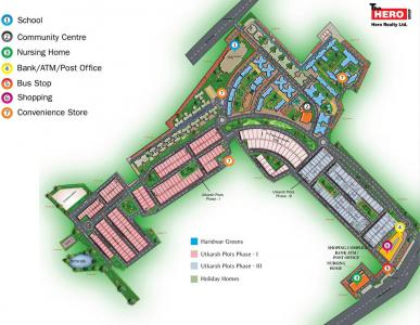 Project Image of 1081.0 - 1700.0 Sq.ft 2 BHK Apartment for buy in Hero Haridwar Greens Apartments