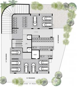 Project Image of 1716.09 - 2256.12 Sq.ft 2 BHK Apartment for buy in Vishwanath Greencraft Residences
