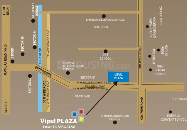 Project Image of 441.0 - 805.0 Sq.ft Shop Shop for buy in Vipul Plaza