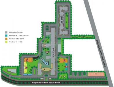 Project Image of 1377.0 - 2220.0 Sq.ft 2 BHK Apartment for buy in Umang Monsoon Breeze