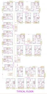 Project Image of 1180.0 - 2004.0 Sq.ft 2 BHK Apartment for buy in Mirchi Taranto