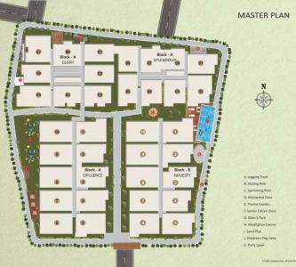 Project Image of 1085 - 1585 Sq.ft 2 BH Apartment for buy in Sai Nandana Grandeur