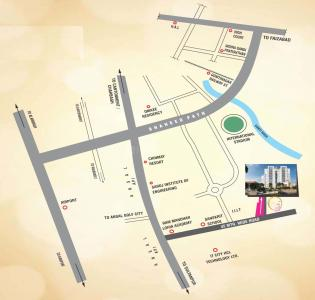 Gallery Cover Image of 1400 Sq.ft 2 BHK Apartment for buy in Eiffel Vivassa Estate Phase 1, Ahmamau for 4900000