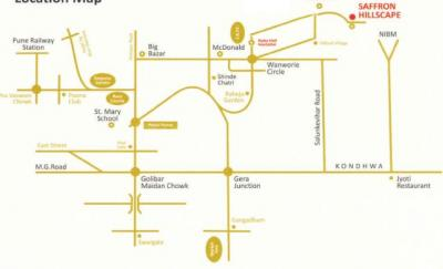 Project Image of 1245.0 - 1570.0 Sq.ft 2 BHK Apartment for buy in Shree Keshriya Saffron Hillscapes