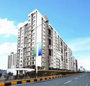 Gallery Cover Image of 635 Sq.ft 1 BHK Apartment for rent in Patel Smondoville, Bommasandra for 14000