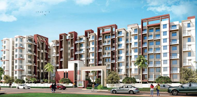 Project Image of 337.45 - 633.35 Sq.ft 1 BHK Apartment for buy in Vardhman Dreams Phase II