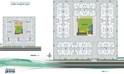 Project Image of 1215.0 - 1269.0 Sq.ft 2 BHK Apartment for buy in Vyapti Vandemataram Prime
