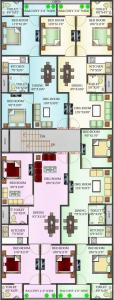 Gallery Cover Image of 750 Sq.ft 2 BHK Apartment for rent in DLF Ankur Vihar for 6500