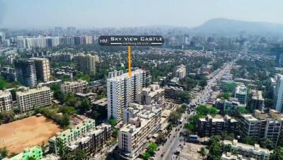 Project Image of 389.0 - 673.0 Sq.ft 1 BHK Apartment for buy in Hirani Group Mumbai Skyview Castle