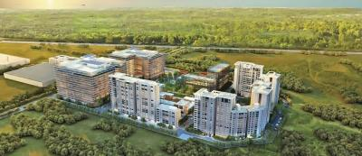 Gallery Cover Image of 730 Sq.ft 2 BHK Apartment for rent in Godrej The Trees, Vikhroli East for 60000