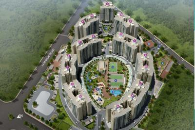 Gallery Cover Image of 1600 Sq.ft 2 BHK Apartment for rent in Vascon Forest County, Kharadi for 35000