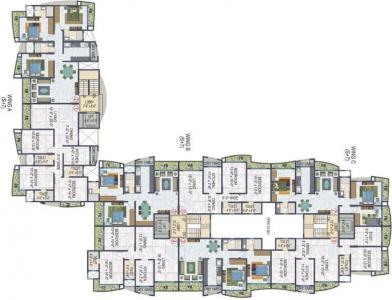Gallery Cover Image of 1850 Sq.ft 3 BHK Apartment for rent in Ecohomes Eco Elegance, Andheri East for 65000