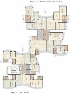 Project Image of 371.0 - 673.0 Sq.ft 1 BHK Apartment for buy in Ravi Raviraj Royal