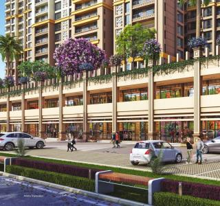 Gallery Cover Image of 1296 Sq.ft 2 BHK Apartment for buy in Paradise Sai World City, Panvel for 10500000