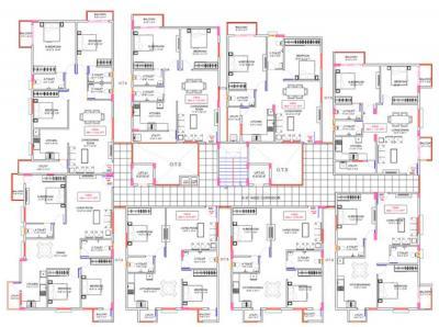 कैनरी वुड्स में खरीदने के लिए 1075 - 1424 Sq.ft 2 BHK अपार्टमेंट प्रोजेक्ट  की तस्वीर