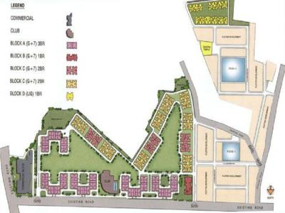 Project Image of 1229 Sq.ft 3 BHK Apartment for buyin Dhadka for 3200000