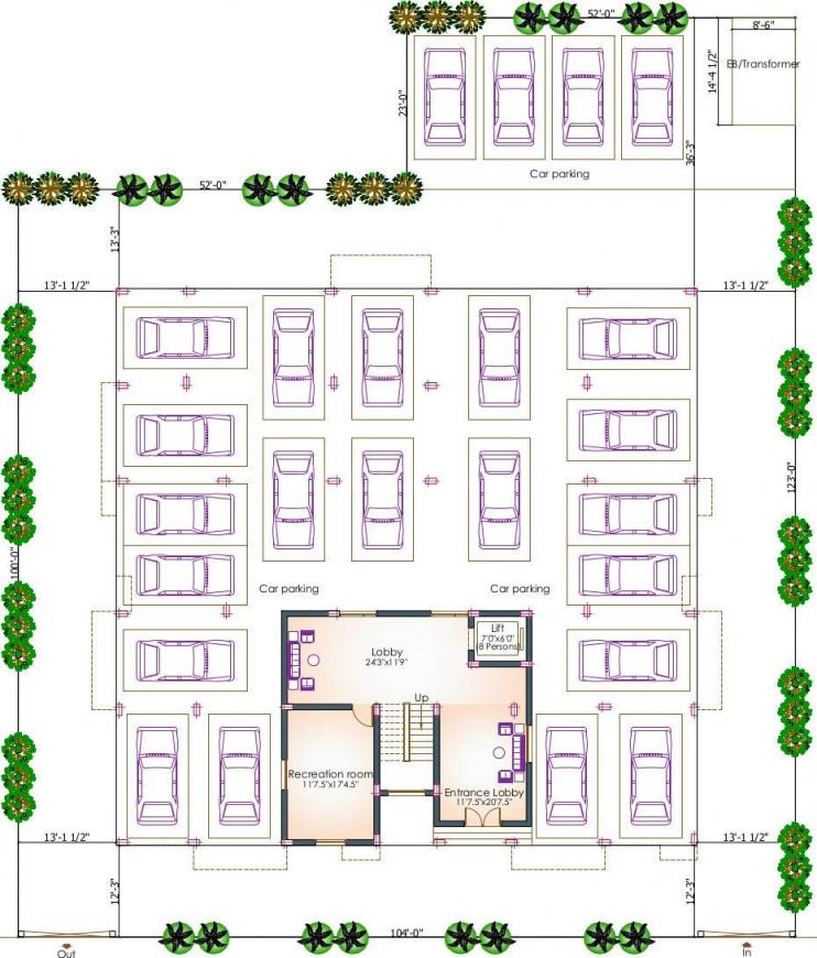 Project Image of 0 - 1884.0 Sq.ft 3 BHK Apartment for buy in Pushkar Harrington Residences