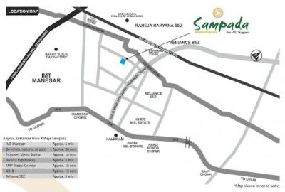 Gallery Cover Image of 2572 Sq.ft 3 BHK Independent Floor for buy in Raheja Developer Sampada, Sector 92 for 7500000