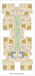 Project Image of 469.41 - 666.29 Sq.ft 2 BHK Apartment for buy in Balaji Jai Kalindi Apartment