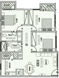 Project Image of 1250.0 - 1650.0 Sq.ft 2 BHK Apartment for buy in Vaibhav Urbana