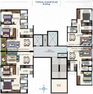 Project Image of 411.93 - 651.97 Sq.ft 1 BHK Apartment for buy in JE Corporate Park