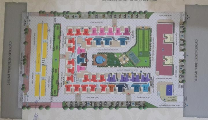 Project Image of 915 - 1250 Sq.ft 2 BHK Apartment for buy in SCC Blossom Pmay Ph 3 Block A And Block B