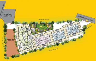 Project Image of 0 - 376 Sq.ft 1 BHK Apartment for buy in Puraniks Aldea Annexo D