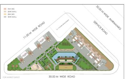 Project Image of 1538 Sq.ft 3 BHK Apartment for buyin Nerul for 27500000