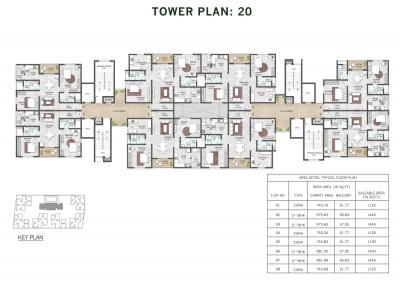 Project Image of 722.0 - 1493.0 Sq.ft 2 BHK Apartment for buy in Shriram Park 63