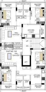Project Image of 820 - 825 Sq.ft 2 BHK Apartment for buy in Someshwar Diamond Lakewood