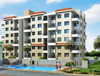 Gallery Cover Image of 975 Sq.ft 2 BHK Apartment for rent in Arun Celesta, Chikhali for 14000