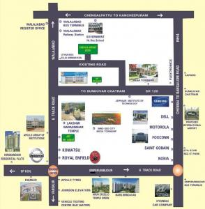 Project Image of 1060.0 - 2584.0 Sq.ft Residential Plot Plot for buy in Sri Emerald Avenue Extension