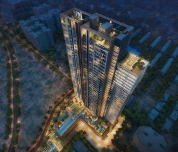 Gallery Cover Image of 2056 Sq.ft 4 BHK Apartment for buy in TATA 88 East, Mominpore for 45000000