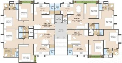 Project Image of 514.78 - 669.89 Sq.ft 2 BHK Apartment for buy in Jhatakia Tirth Casitas