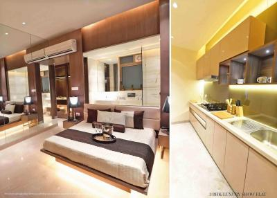 Gallery Cover Image of 1800 Sq.ft 3 BHK Apartment for buy in Runwal Bliss, Kanjurmarg East for 28100000