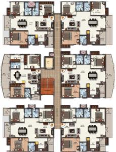 Project Image of 0 - 977.0 Sq.ft 2 BHK Apartment for buy in Maithri Shilphitha Royal