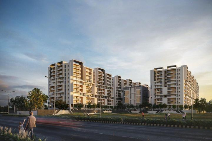 Project Image of 1270.0 - 2509.0 Sq.ft 2 BHK Apartment for buy in GHR Titania