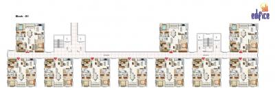Project Image of 0 - 1449.0 Sq.ft 3 BHK Apartment for buy in Edifice