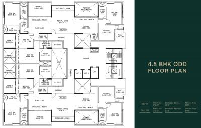 Project Image of 0 - 2286.0 Sq.ft 4 BHK Apartment for buy in Kumar Kumar Privie Shiloh