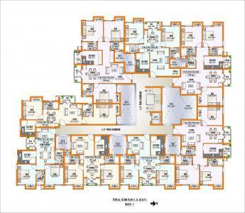 पीजीपी ओक्स में खरीदने के लिए 863.0 - 1372.0 Sq.ft 2 BHK अपार्टमेंट प्रोजेक्ट  की तस्वीर