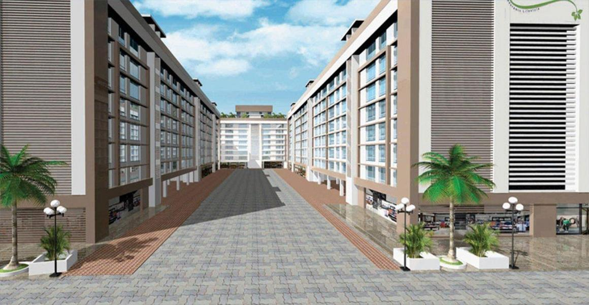 Project Image of 350.0 - 700.0 Sq.ft 1 BHK Apartment for buy in Alfa Mana A M Residency