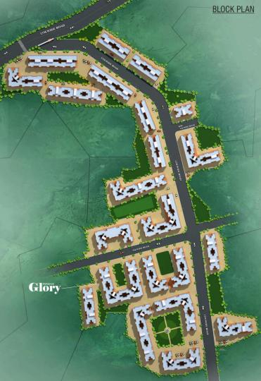 Project Image of 310.86 - 480.93 Sq.ft 1 BHK Apartment for buy in Parshv Glory
