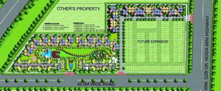 Project Image of 845.0 - 1730.0 Sq.ft 2 BHK Apartment for buy in Amrapali Leisure Park