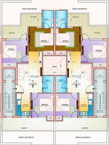 Gallery Cover Image of 500 Sq.ft 1 BHK Apartment for buy in Amolik Residency Apartment, Sector 86 for 1330000