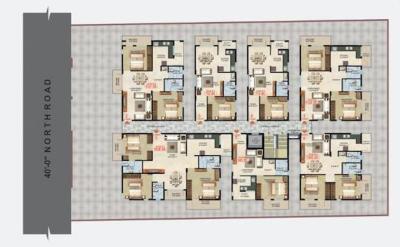 एसडीआर श्री गायत्री एंपायर में खरीदने के लिए 649.0 - 710.0 Sq.ft 1 BHK अपार्टमेंट प्रोजेक्ट  की तस्वीर