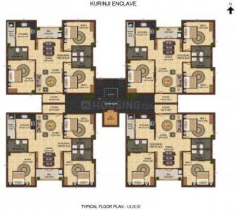 Project Image of 0 - 1565.0 Sq.ft 3.5 BHK Apartment for buy in India Kurunji Enclave